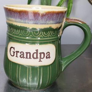 Cracker Barrel Oversized Grandpa Mug Pottery